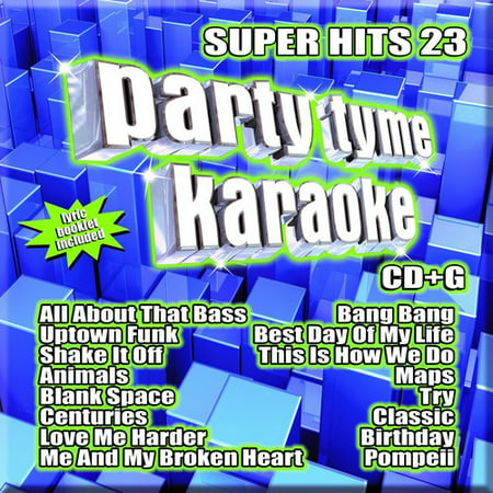 Party Tyme Karaoke: Super Hits 23 (CD) (Christmas 2 Karaoke Cd)