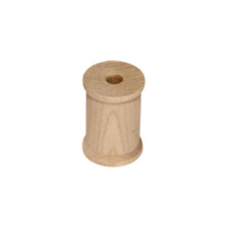 Brand New SP4000-100 Wooden Unfinished Wooden Thread Spool Bag of 100](Wooden Spools)