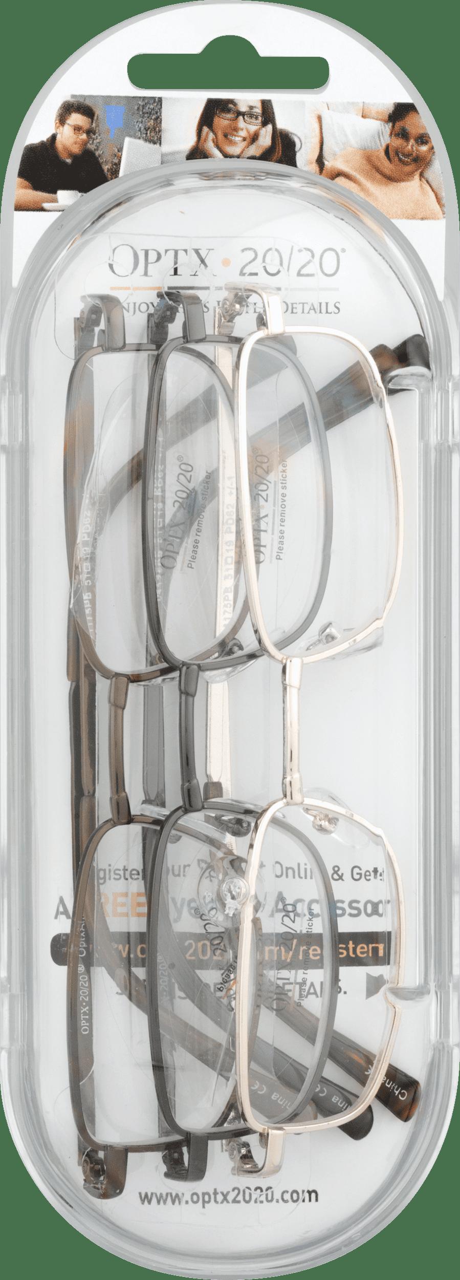 b58957a19f0 Optx 20 20 Reading Glasses +350 - 3 PK
