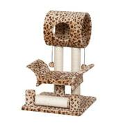 Catry 28`` Leopard Print Cat Tree