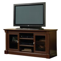 """Sauder Palladia Entertainment Credenza for TV's up to 60"""", Select Cherry Finish"""
