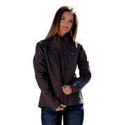 Cinch Western Jacket Womens Bonded Pockets Zip Lined Brown MAJ9830005
