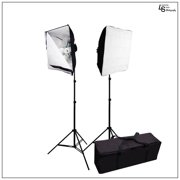 Softbox Light Stand Kit with Soft White Velcro Diffuser and Convenient Travel Case for Photo and Video by Loadstone Studio WMLS0815