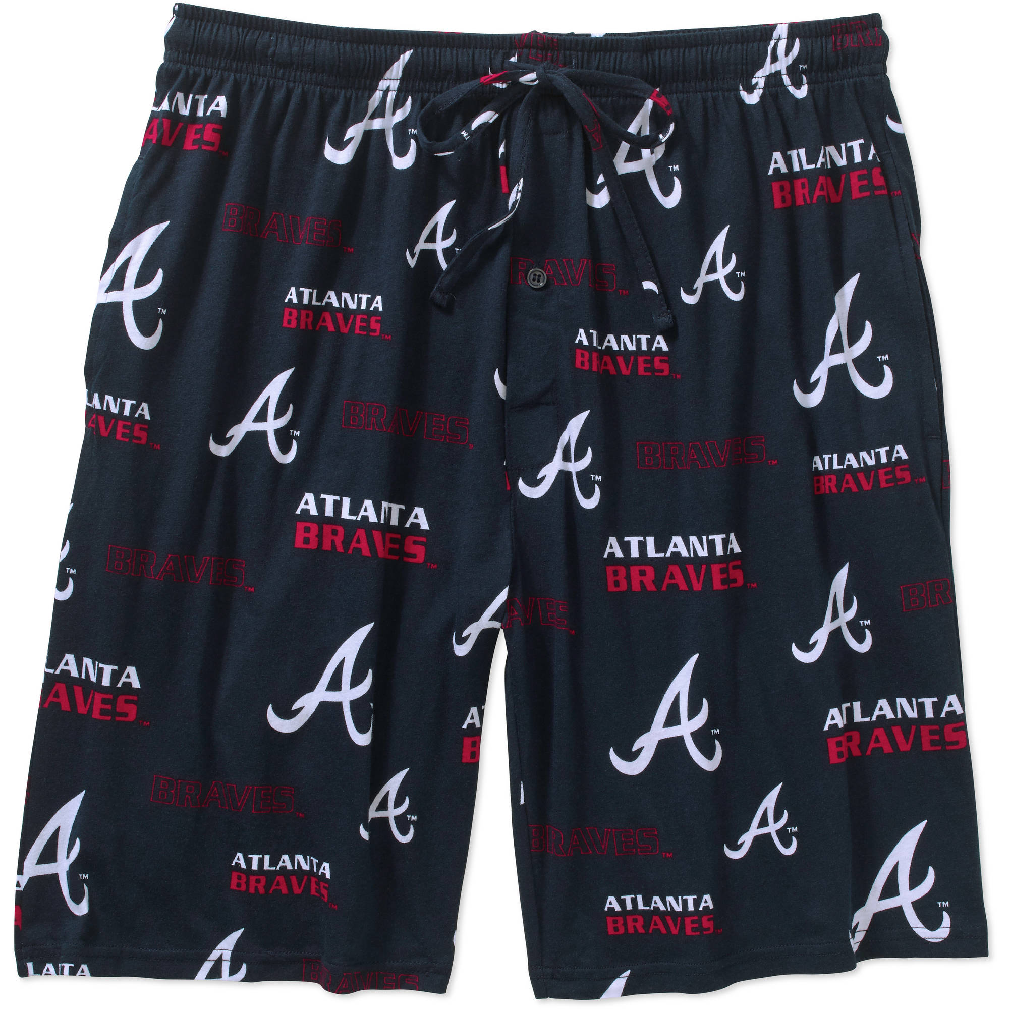 MLB Men's Atlanta Braves Knit Jam Shorts
