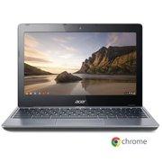 "Certified refurbished Grade B Acer C720-2844 Celeron 2955U Dual-Core 1.4GHz 4GB 16GB SSD 11.6"" LED Chromebook Chrome OS w/Cam & BT"