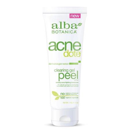 Alba Botanica Acnedote Clearing Gel Peel, 4 oz.