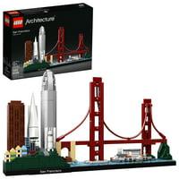 LEGO Architecture 21043 San Francisco Building Kit with iconic landmarks
