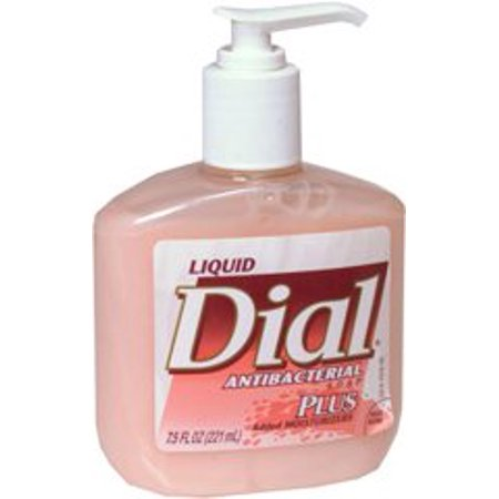 - Dial Antibacterial Liquid Soap  Scented 7.5 oz. Pump Bottle - 1 Count