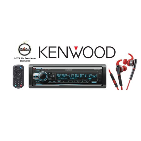 Kenwood KDC_X501 eXcelon CD Receiver with Red 800 Series