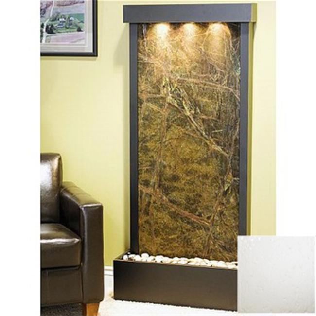 Adagio H7F1040 Harmony River Silver Mirror Floor Fountain by Adagio