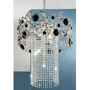 Foresta Colorita Chandelier Light (Natural Bronze - Crystalique)
