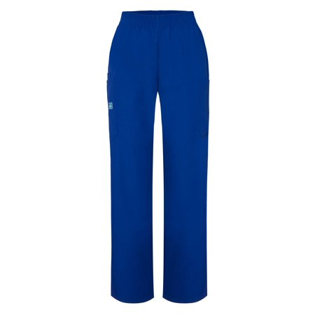 Adar Universal Natural-Rise Comfort 4 Pkt Cargo Utility Tapered Leg Pants - 503 - Royal Blue - 2X