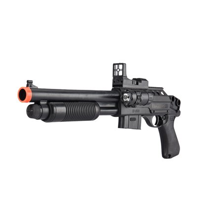 UKARMS Pump Action Pistol Grip Spring Power Airsoft Shotgun 6mm Gun + (Best Cheap Side By Side Shotgun)