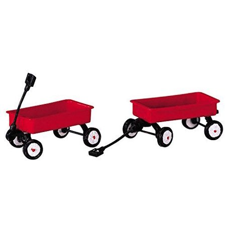 2004 Red Wagons Set of 2 Christmas Village Accessories by, Made in 2003 By Lemax](Toy Weapons For Sale)