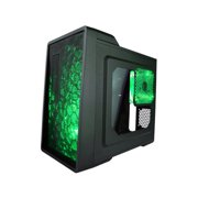 Apevia X-ENERQ-GN X-enerq No Power Supply Atx Mid Tower [black/green]