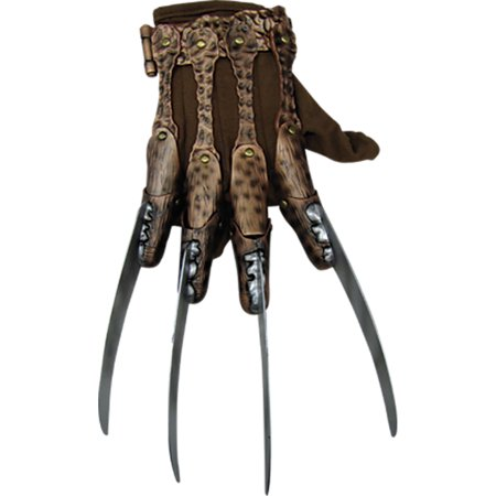 Adult Feddy Frueger Deluxe Glove by Rubies 8875