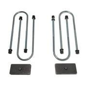 Tuff Country 97094 Axle Lift Block Kit; 1 in. Rear Lift; Incl. Lift Blocks; U-Bolts;