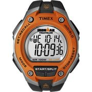 Men's Ironman Classic 30 Oversized Black/Orange Watch, Resin Strap