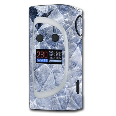 Skin Decal For Sigelei Kaos Spectrum 230W Vape / Cracking Shattered Ice