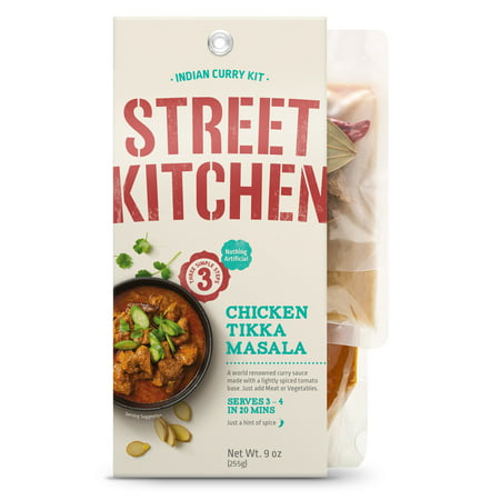 Street Kitchen Chicken Tikka Masala Indian Scratch Kit, 9 (Best Frozen Indian Food)