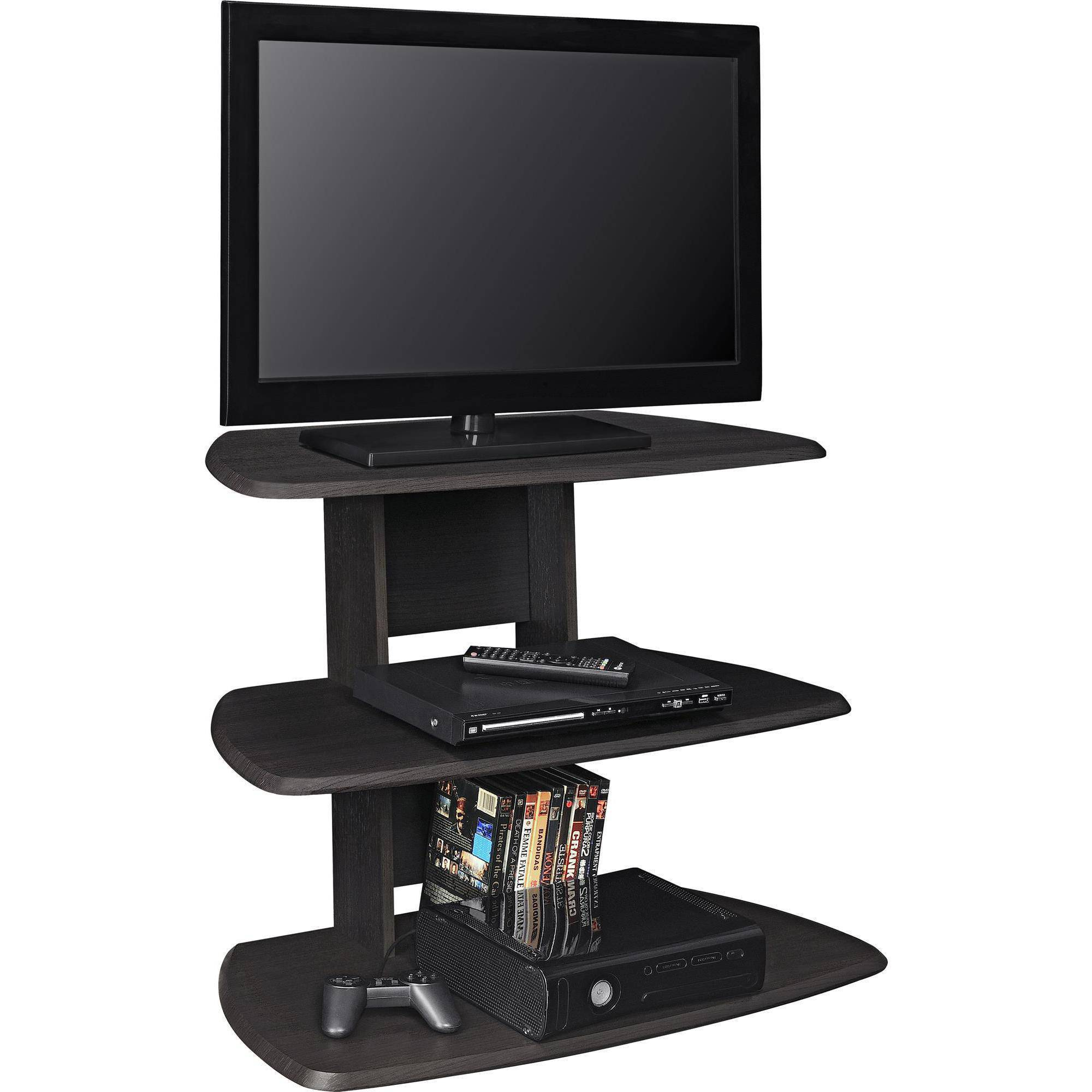 "Ameriwood Home Galaxy II TV Stand for TVs up to 32"" Wide, Espresso"