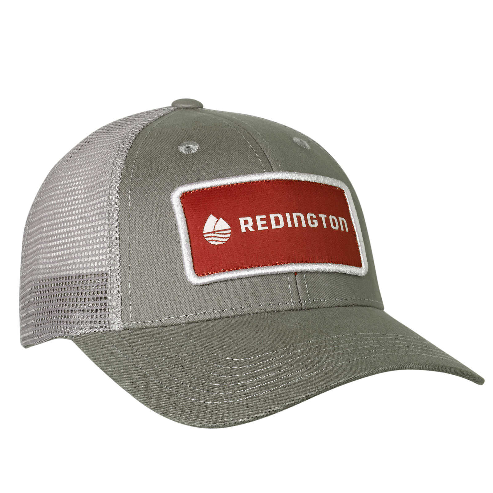 Redington Guide Meshback Baseball Hat Cap Fly Fishing Storm Grey One Size