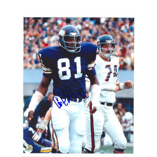 NFL - Carl Eller Minnesota Vikings Autographed 8x10 Photograph with 82