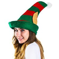 funny party hats christmas elf hat felt elf hat with jingle bells or ears - Funny Christmas Hats Adults