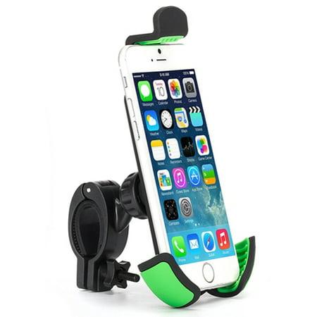 Premium Bicycle Mount Phone Holder Handlebar Cradle Rotating Dock Strong Grip Z1D Compatible With Alcatel Fierce 4, 1x Evolve - ASUS Zenfone V Live Max Plus M1, ROG Phone, AR 5z 5Q 4 Pro 3