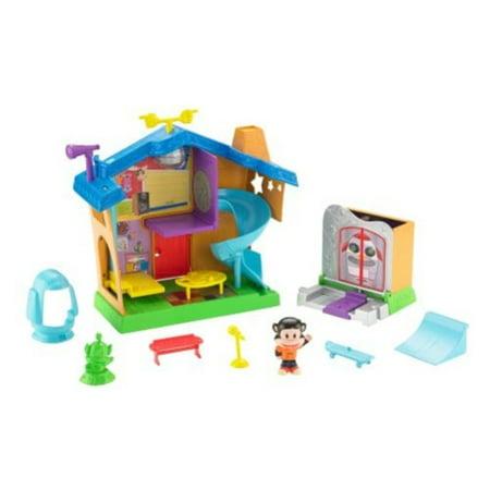 Fisher Price Julius Jr  Playhouse Playset