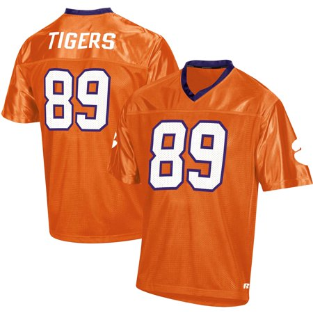 Men's Russell Athletic Orange Clemson Tigers Replica Football Jersey Clemson Tigers Replica Football Jersey
