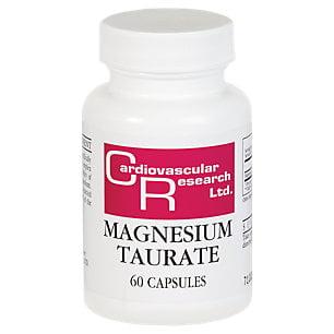 Research Magnesium (Ecological Formulas- Magnesium Taurate 125 mg 60 caps )