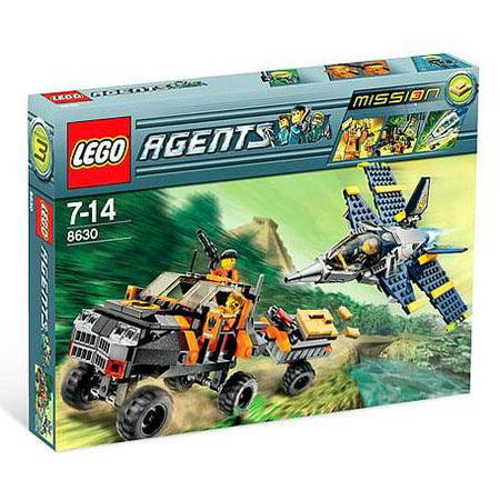 Agents Mission 3: Gold Hunt Set LEGO 8630 (Lego Agents Sets)