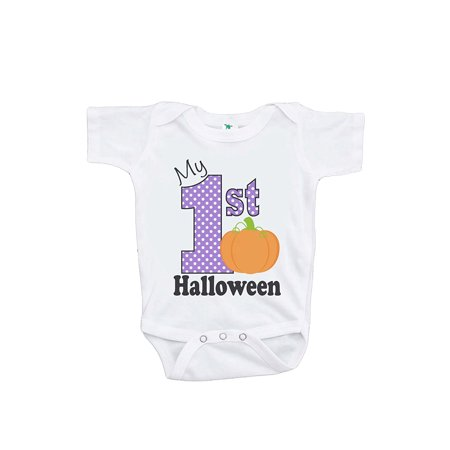 Custom Party Shop Baby's My 1st Halloween Onepiece - 3-6 Month (Baby's First Halloween Party Ideas)