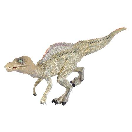 Qiilu Simulation Spinosaurus Modèle Dinosaure Jouet En Plastique Bureau À La Maison Bureau Décor Enfants Cadeau, Modèle De Dinosaure, En Plastique Modèle De Dinosaure - image 3 de 11
