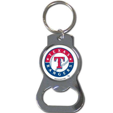 texas rangers official mlb bottle opener key chain keychain by siskiyou. Black Bedroom Furniture Sets. Home Design Ideas