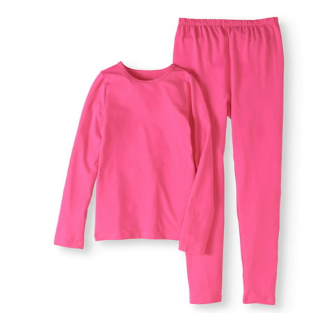 Girls' Core Performance Thermal Underwear Set (Girls Sleepwear)