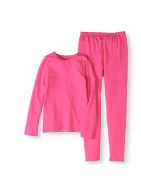 Fruit of the Loom Girls' Core Performance Thermal Underwear Set, (Little Girls & Big Girls)