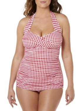 860fd8f99b3d6 Womens One-piece Swimsuits - Walmart.com
