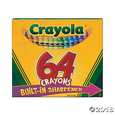 64-Color Crayola® 64 Pc. Crayons(pack of 1)
