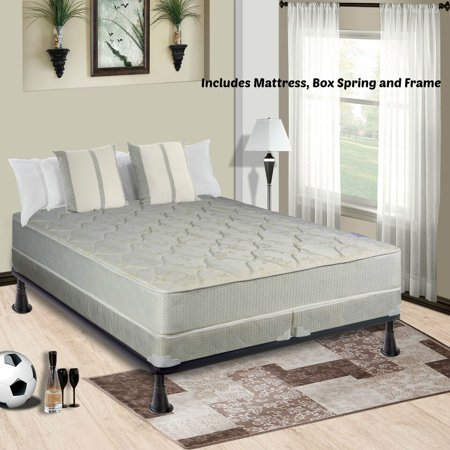 Continental Mattress, 9-Inch Fully Assembled Gentle Firm Innerspring ...