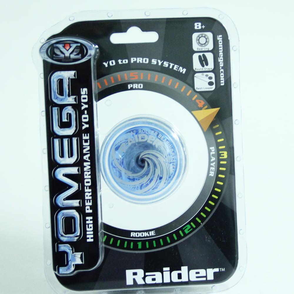 Yomega Raider Yo-Yo (Clear Trans Blue)
