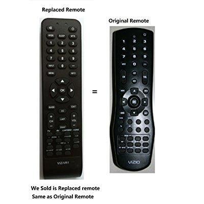 new replaced vr1 lost remote control for vizio v50p vx52l vx42l vx37l vw42l vw37l vw26l vw22l vu42l vs42l va26l va22l va220e va19l l42 l37 l32 gv46l gv42l p42 p50 (lcd & plasma) vm60p vp42 vp50 vp322