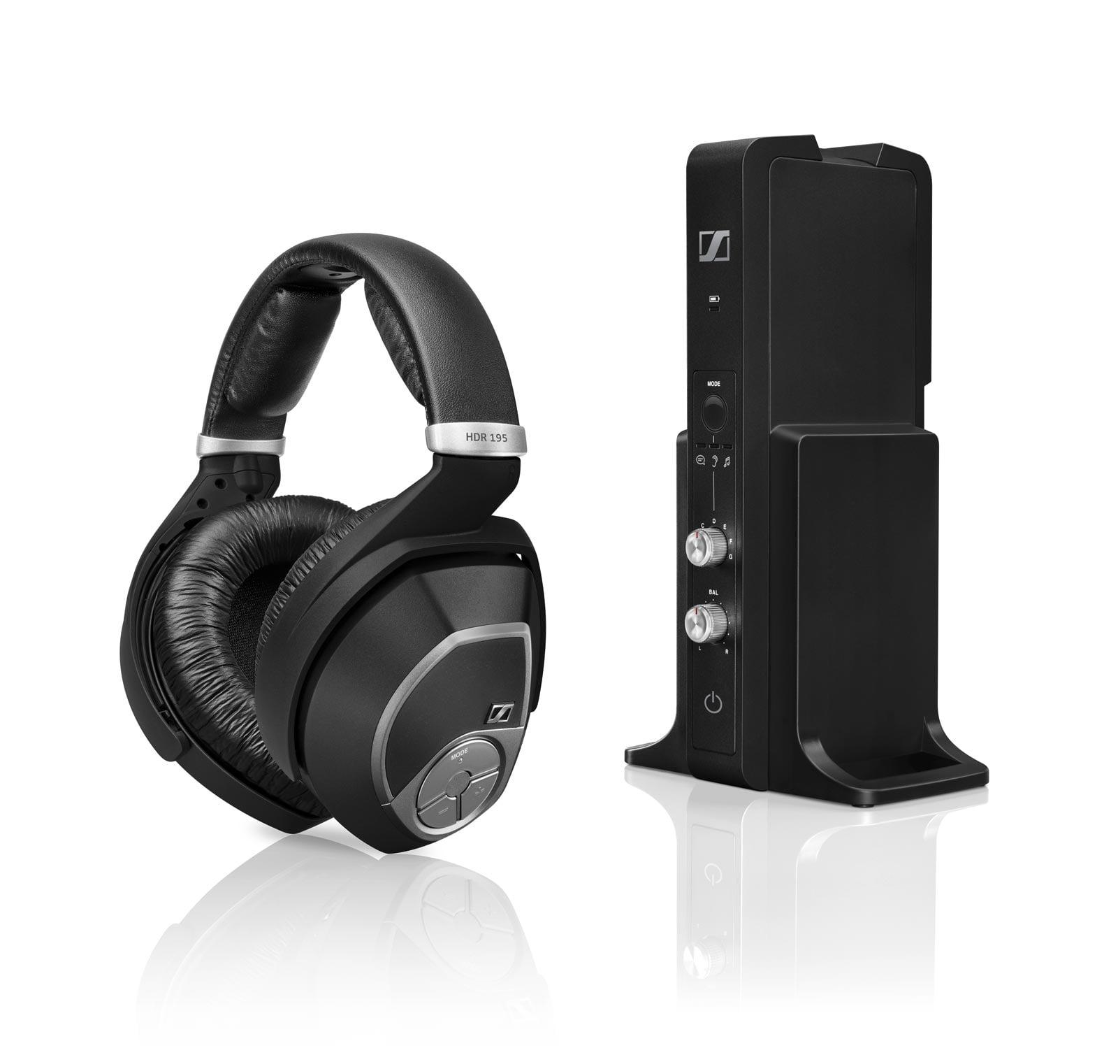 Sennheiser RS 195 - TV and Home Audio Wireless Headphones