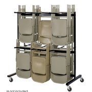 Safco Products Company 840 lb.Capacity Two-Tier Chair Dolly