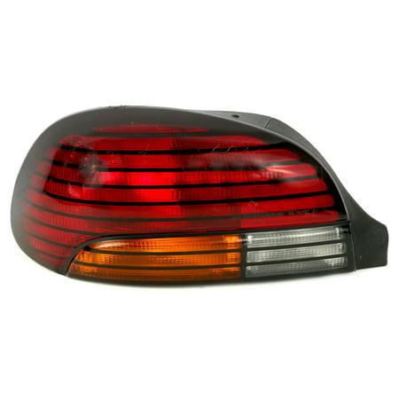 1996-1998 Pontiac Grand Am Single Left Tail Light Lamp Bulbs Included 05978199