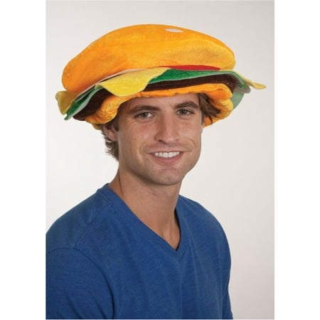 Funny Turkey Hats (Hamburger Hat Costume Burger Cap Funny BBQ Food Prop Cheese)