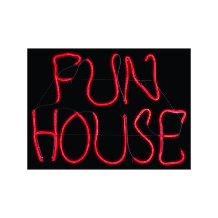 Fun House LED Neon Sign Halloween - Fun Halloween Decor