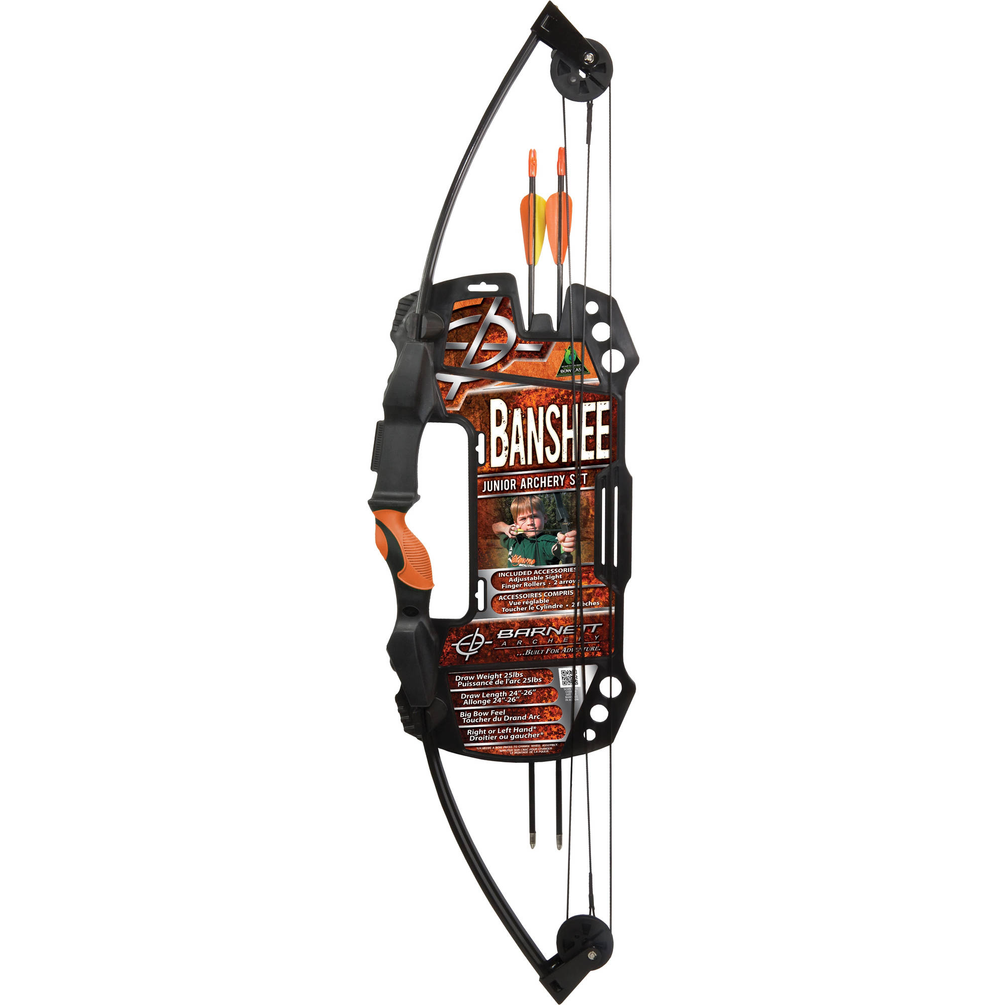 Barnett Sports & Outdoors Lil' Banshee Junior Compound Bow Archery Set