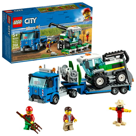 LEGO City Great Vehicles Harvester Transport Truck Building Set 60223